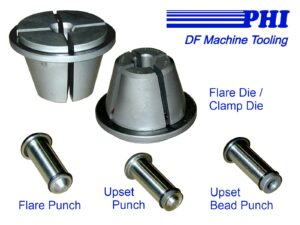PHI DF Machine Double-Flare Tooling-Labeled