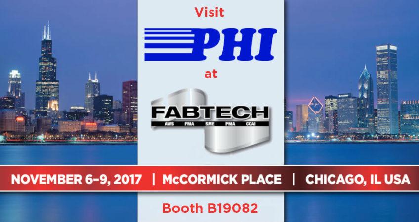 Visit PHI at Fabtech 2017