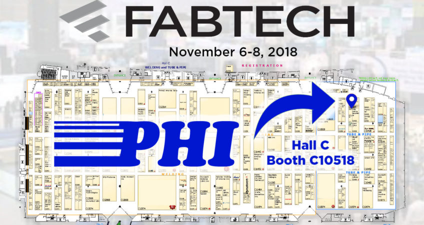 PHI Exhibiting at Fabtech 2018