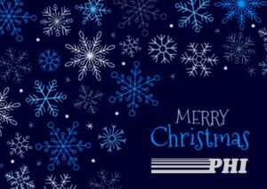 Merry Christmas and Happy Holidays from PHI - 2020