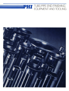 PHI Tube+Pipe End Finishing Equipment+Tooling-Catalog-Cover