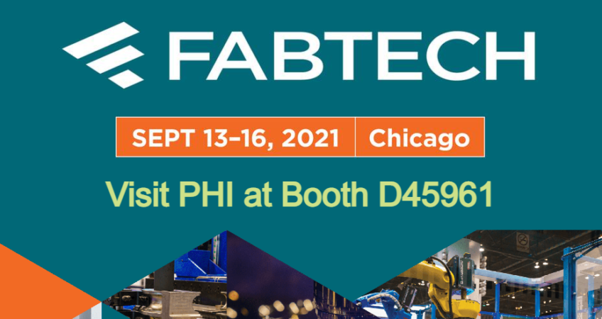 PHI Exhibitor at Fabtech 2021 Chicago